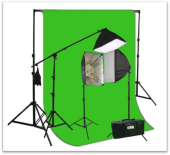 Green Screen for interactive art projects